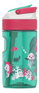 Kambukka drinkfles Lagoon 400ml Ocean Mermaid-Linkerzijde