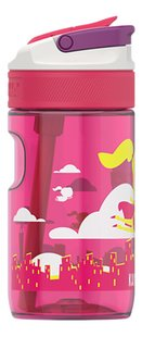 Kambukka drinkfles Lagoon 400 ml Flying Supergirl-Linkerzijde