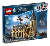 LEGO Harry Potter 75954 De Grote Zaal van Zweinstein-Vooraanzicht
