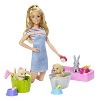 Barbie Le bain des animaux de compagnie-commercieel beeld