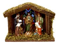 Kerststal traditioneel-Vooraanzicht