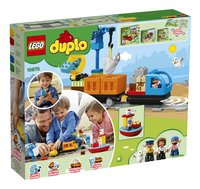 LEGO DUPLO 10875 Goederentrein-Achteraanzicht