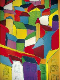 Creall plakkaatverf Dacta color - 5 stuks-Afbeelding 3