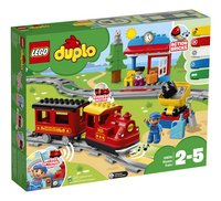 LEGO DUPLO 10874 Stoomtrein-Linkerzijde
