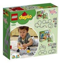 LEGO DUPLO 10882 Treinrails-Linkerzijde