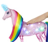 Barbie Dreamtopia Princesse avec licorne magique-Image 1