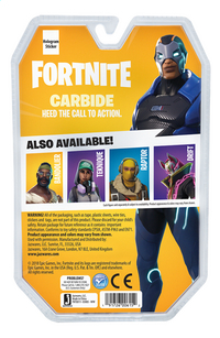 Fortnite actiefiguur Carbide Solo Mode-Achteraanzicht
