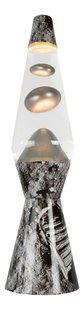 Lavalamp Maan zilver/zwart-commercieel beeld