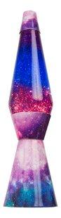 Lavalamp Galaxy met glitters paars/blauw-Vooraanzicht