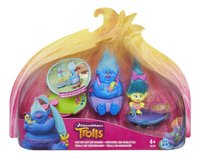 Trolls set de jeu 2 figurines avec skate-boards-Avant