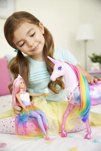 Barbie Dreamtopia Princesse avec licorne magique-Image 5