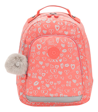 12404fa1ad6 Kipling rugzak Class Room S Hearty Pink Met. in stock