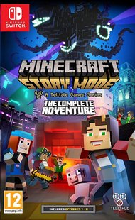 Switch Minecraft Story Mode: The Complete Adventure ENG/FR