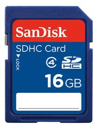 SanDisk SDHC-geheugenkaart Class 4 16 GB