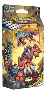 Pokémon Trading Cards Sun & Moon 12 Cosmic Ecllipse Starter Groudon-Linkerzijde
