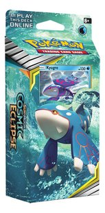Pokémon Trading Cards Sun & Moon 12 Cosmic Eclipse Starter Kyogre-Linkerzijde