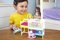Barbie speelset Babysitter Skipper - Tweeling met kinderkamer-Afbeelding 2