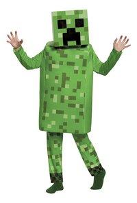 Verkleedpak Minecraft Creeper deluxe-Vooraanzicht