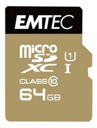 Emtec geheugenkaart microSDXC Class 10 64 GB-Vooraanzicht
