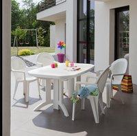 Grosfillex chaise de jardin Fidji blanc-Image 1