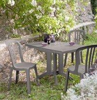 Grosfillex chaise de jardin Bistro Miami beige-Image 1