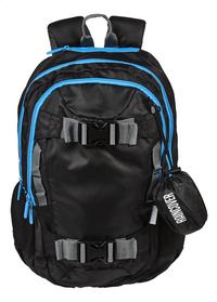 Kangourou rugzak Sport zwart/blauw-Vooraanzicht