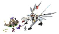 LEGO Ninjago 70748 Titanium draak-Vooraanzicht