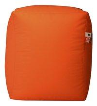 Poef Cube oranje