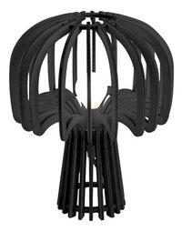 Bureaulamp Leitmotiv Globular Mushroom wood black-Vooraanzicht