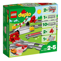 LEGO DUPLO 10882 Treinrails-commercieel beeld