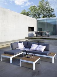 Ensemble Lounge Portals blanc-Image 3