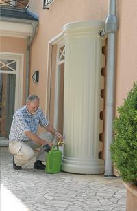 Garantia Regenton muurmodel Romeinse kolom zand 330 l-Afbeelding 2