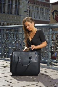 Olivia Lauren businesstrolley Collega zwart-Afbeelding 1