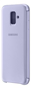 Samsung Wallet Cover pour Galaxy A6 mauve-Arrière