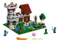 LEGO Minecraft 21161 De Crafting Box 3.0-Vooraanzicht