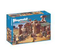 Playmobil Western 5246 Mine d'or avec explosif