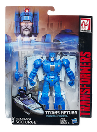 Figurine Transformers Generations Titans Return Deluxe Class Fracas & Scourge
