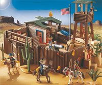 Playmobil Western 5245 Western fort-Afbeelding 1