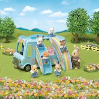 Sylvanian Families 5317 - Le Bus Arc-en-ciel-Image 3