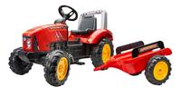 Falk tracteur avec remorque Supercharger rouge-Côté droit
