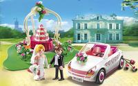 Playmobil City Life 6871 Starter Set /Couple de mariés avec voiture/-Image 1