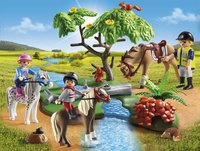 PLAYMOBIL Country 6947 Cavaliers avec poneys et cheval-Image 1
