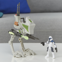 Disney Star Wars Mission Fleet Expedition Class - AT-RT + Captain Rex-Image 1