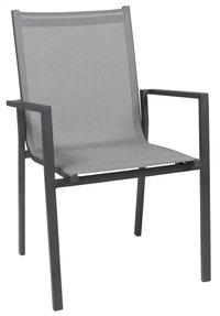 Chaise de jardin Forios gris/anthracite-Avant