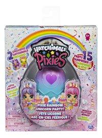 Figuur Hatchimals Pixies Rainbow Unicorn Party-Vooraanzicht