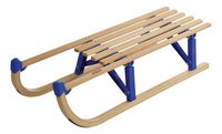 Opplooibare houten slee 100 cm + trekkoord