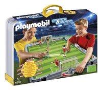 Playmobil Sports & Action 6857 Terrain de football transportable