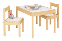 Table avec 2 chaises pour enfants Olaf