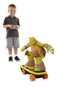 Les Tortues Ninja RC Skateboarding Mikey-Image 1