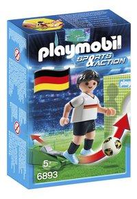 Playmobil Sports & Action 6893 Joueur équipe Allemagne-Avant